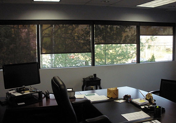 Shading Reduces Office Temperatures