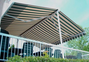 The Eclipse Butterfly Awning for On-Demand Shade