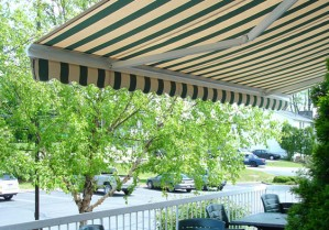 Eclipse Butterfly Motorized Retractable Awning