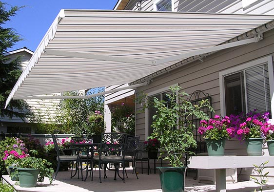 Total Eclipse retractable awning for your side patio