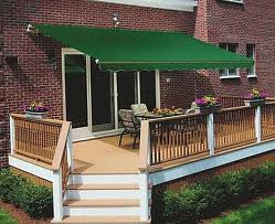 retractable cloth awnings