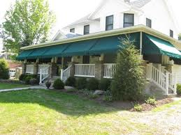Update an old house with new awnings