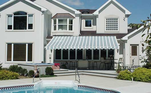 awnings are a perfect source for home shading