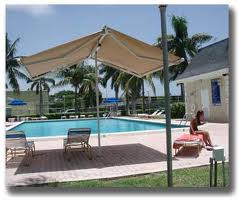 butterfly awnings add shading where you need it