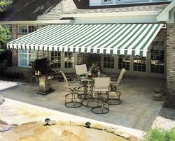 retractable awnings create comfort in the summer