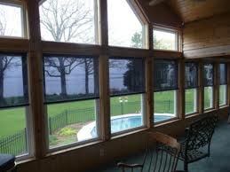 Interior Mounted Roller Shades By Eclipse Shading Systems