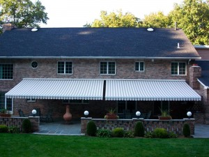 sun protection provided by retractable awnings