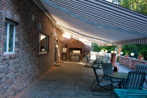 motorized retractable awnings from Eclipse