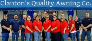 employees of Clantons Quality Awning Company