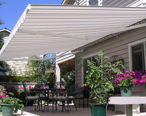 awnings provide solar shading for your home