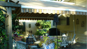 butterfly retractable awning by eclipse shading systems