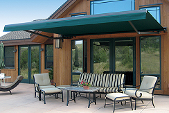 Shade protection courtesy of Eclipse retractable awnings