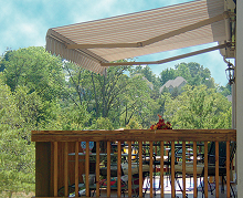 The Eclipse is the highest performing awning for your family