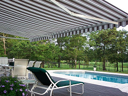 Total Eclipse The Largest Retractable Awning Projection Available