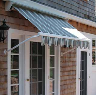 Eclipse drop arm retractable awning