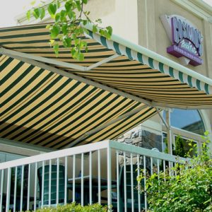 Create Outdoor Living Space With Retractable Awnings