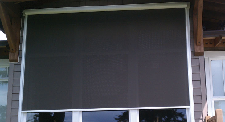 Exterior Cassette Retractable Solar Screen Eclipse