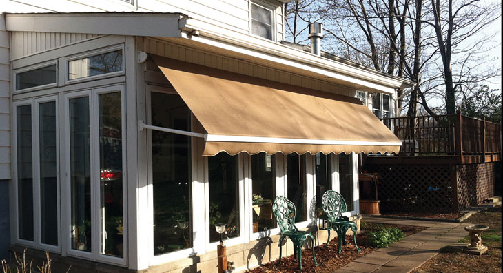 Prepping Awnings For Fall Eclipse Awning