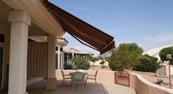 awning pergola retractable awnings covers motorized roof