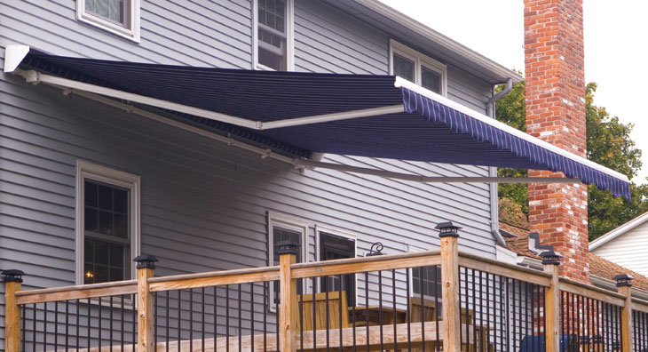 awning patio standing for motorized retractable sale decks free awnings
