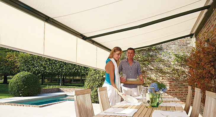 Eclipse Prestige Cassette Motorized Retractable Awning