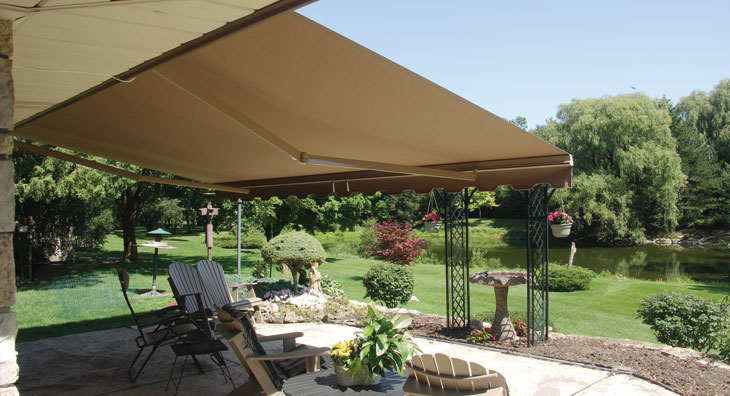 The Total Eclipse Commercial Retractable Awning Eclipse