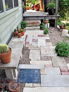 outdoor pathway design