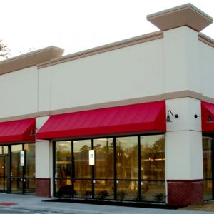 Why Restaurants Choose Red Awnings