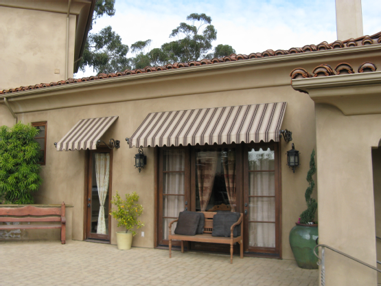 how to clean exterior awnings